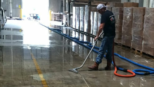 Warehouse Flood in Austin